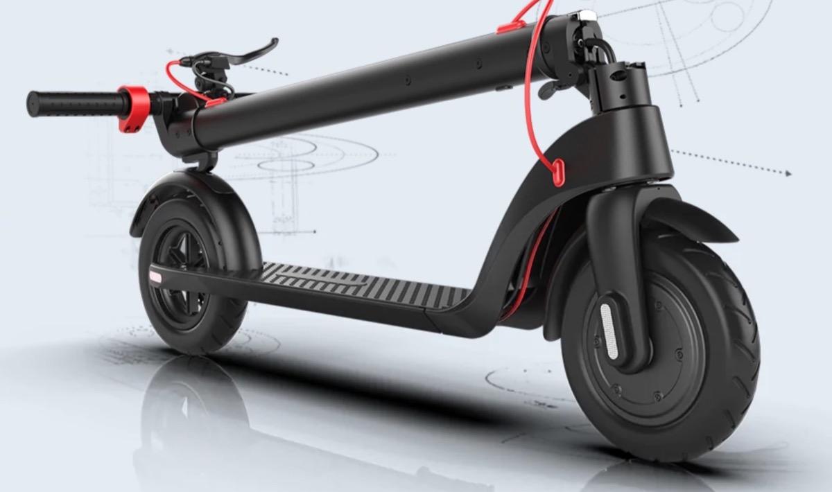 Alfawise X7, il monopattino elettrico pieghevole con batteria removibile