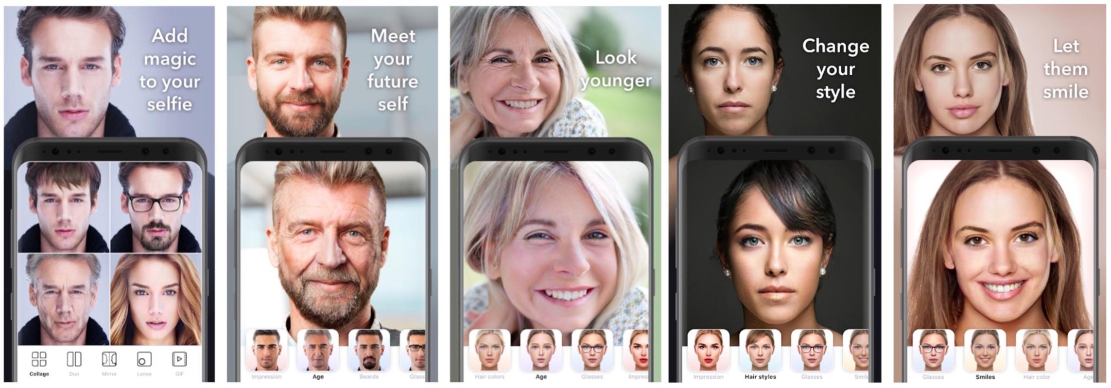 FaceApp con l'AI trasforma i volti: e i risultati sono incredibili