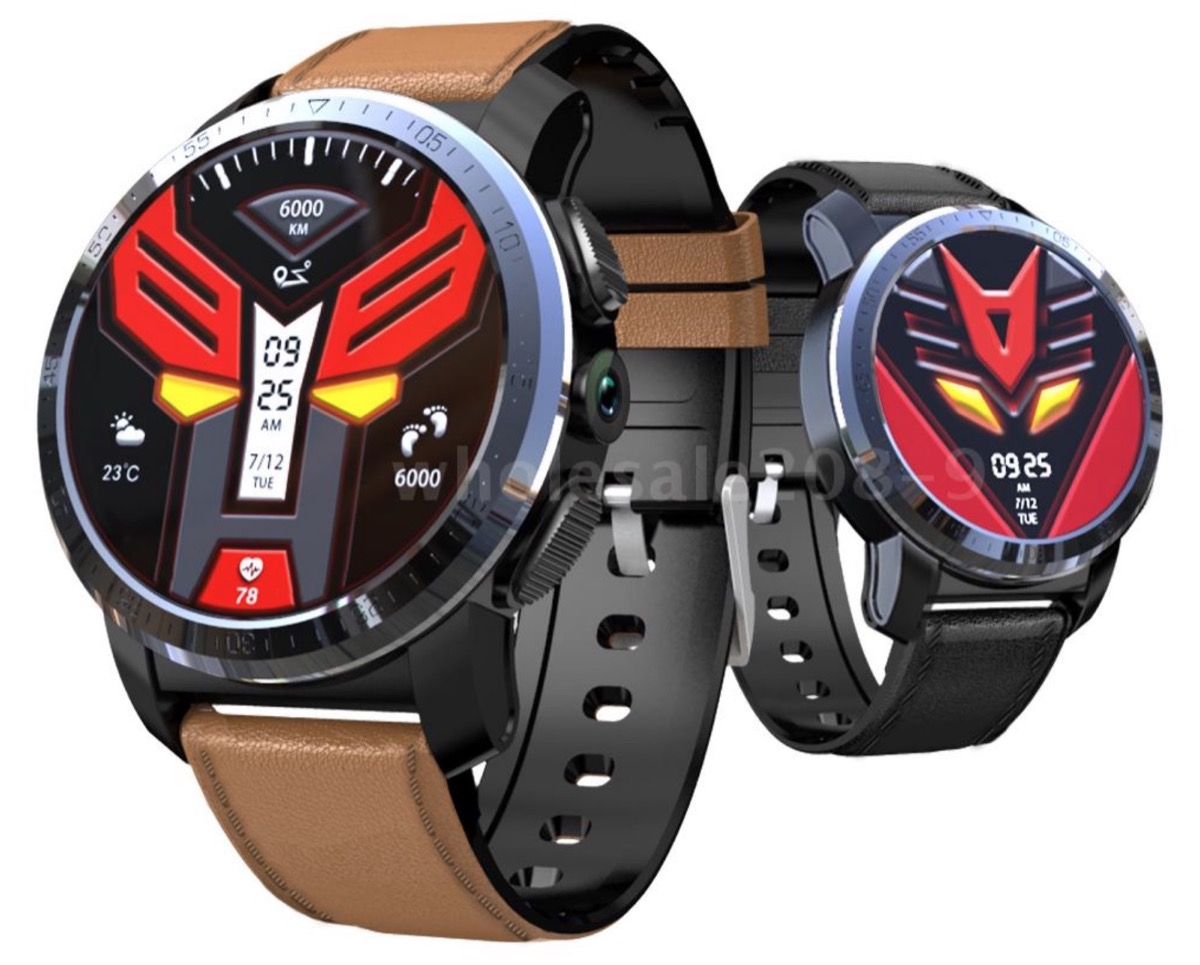KOSPET Optimus Pro, smartwatch con 4G LTE e fotocamera da James Bond