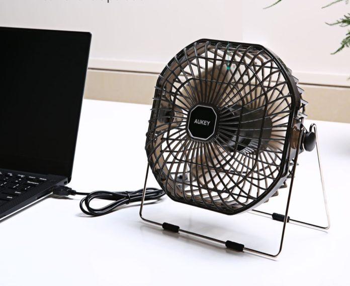 Ventilatore USB da tavolo in offerta a soli 7,99 euro