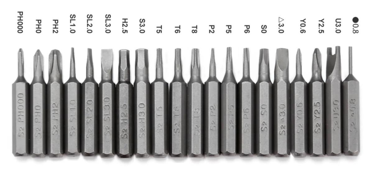 Xiaomi Wowstick, il cacciavite elettrico tascabile con 20 punte intercambiabili