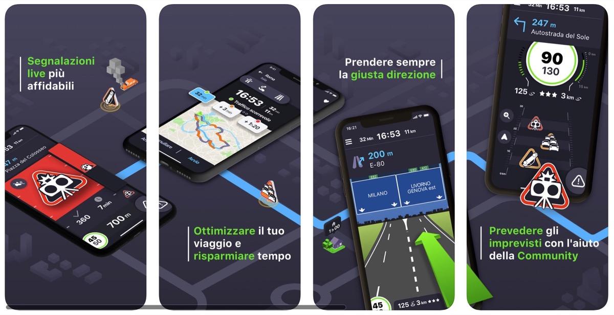 Coyote, l'app che segnala gli autovelox anche dal CarPlay