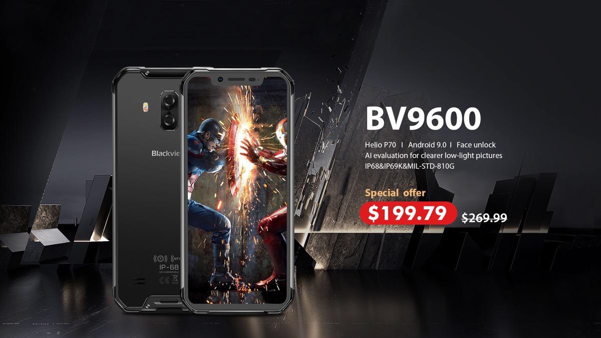 Blackview BV9600, lo smartphone anti-tutto con Android 9
