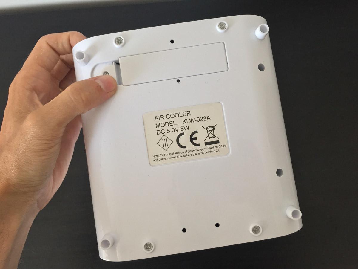 Recensione Chilly Air, mini-ventilatore ad acqua con umidificatore e purificatore d'aria
