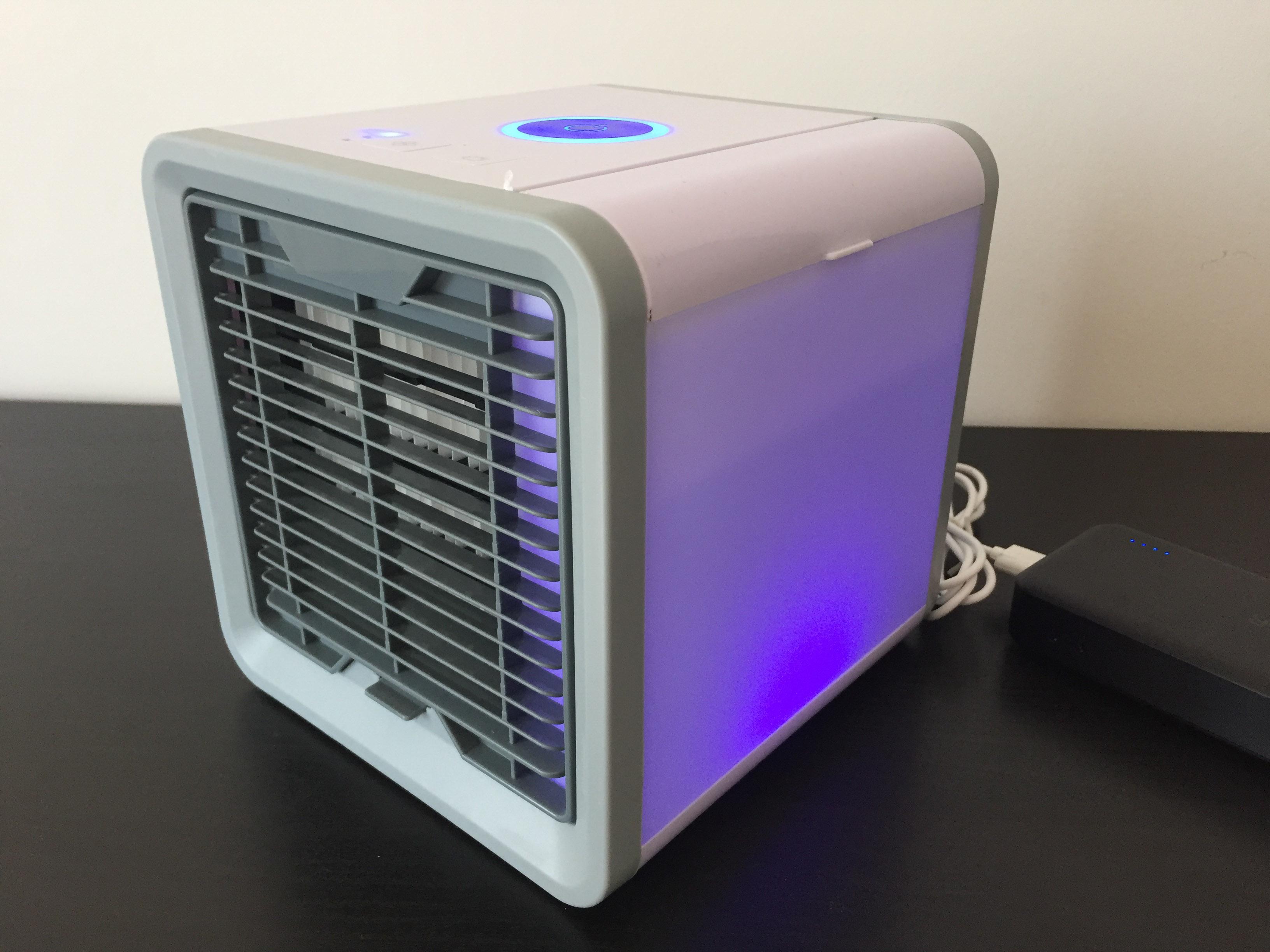 Recensione Arcttc Atr, il mini-ventilatore ad acqua