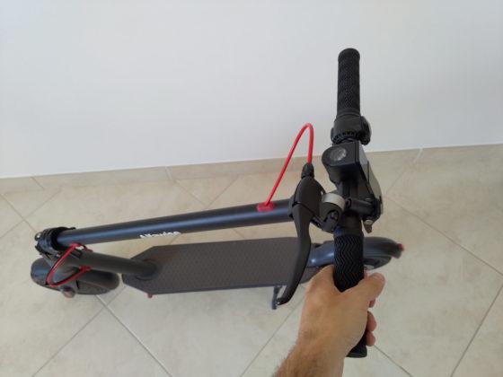 Recensione Alfawise M1, il monopattino elettrico con freno a disco e ABS