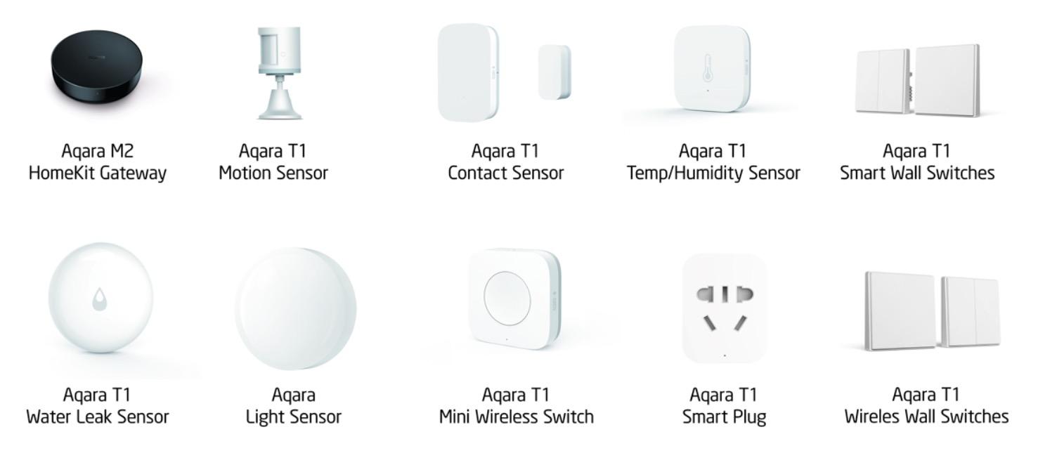 In arrivo il nuovo hub Homekit Xiaomi Aqara M2 HomeKit Hub insieme a interruttori e sensori Zigbee 3.0