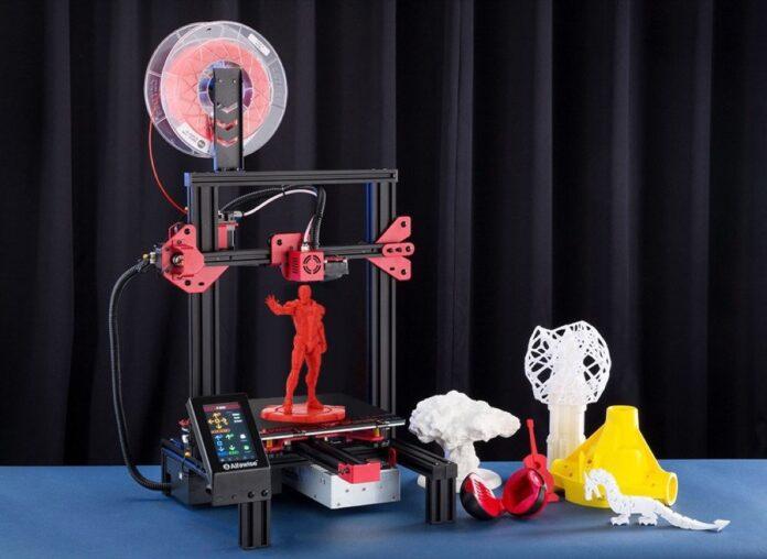 Alfawise U30 Pro, in super offerta la stampante 3D low cost con schermo da 4,3″