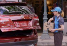 Amazon ora consegnerà al bagagliaio della tua Honda