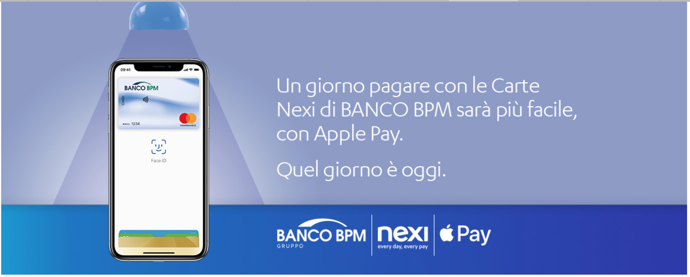 Le carte Nexi di Banco BPM ora abilitate per Apple Pay