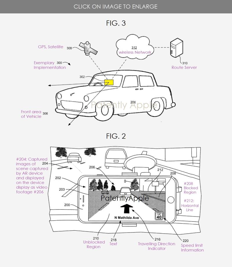 Apple brevetta le mappe in Realtà Aumentata