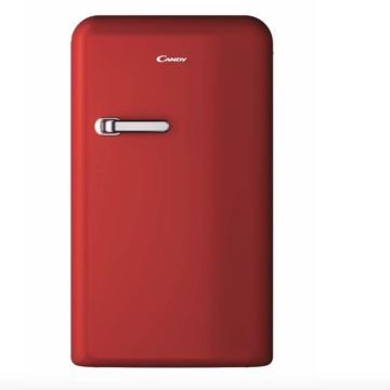Candy Divo, il minifrigorifero rosso che raffredda e arreda in offerta Prime Day