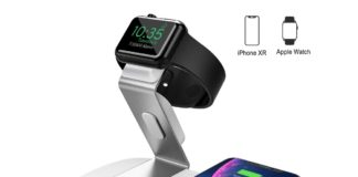 Base di ricarica wireless per Apple Watch ed iPhone: solo 16,99€