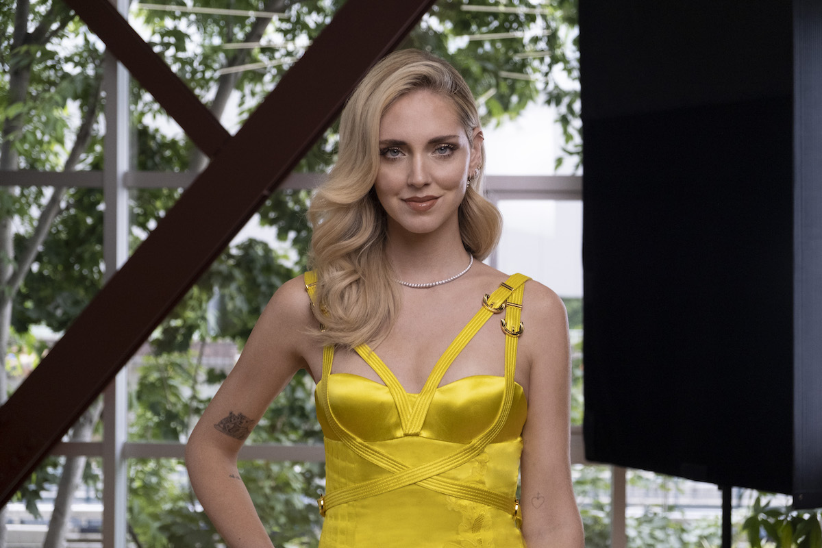 Chiara Ferragni nuova protagonista dello show Making the cut di Amazon Prime Video