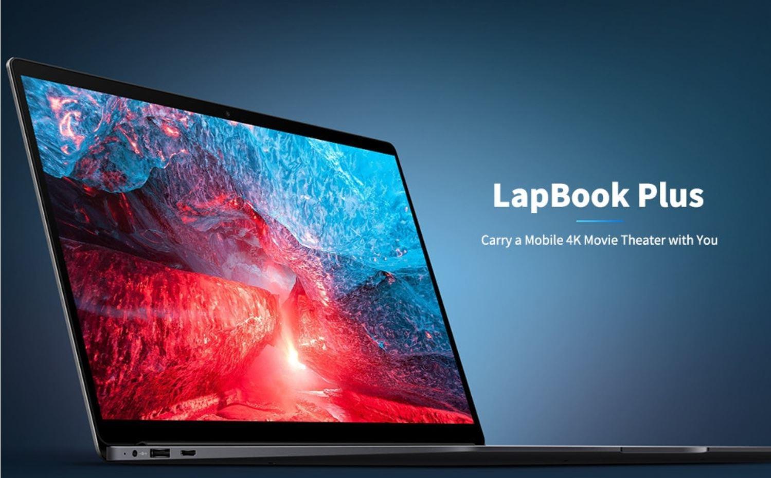 Sconto a 393 euro per CHUWI LapBook Plus 15.6, il notebook per creativi con schermo 4K