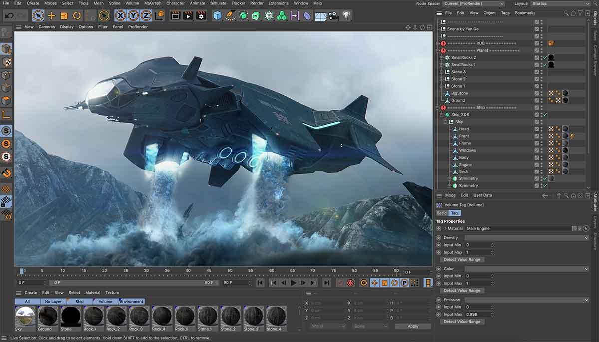 Maxon ha annunciato il nuovo Cinema 4D 21 al SIGGRAPH 2019
