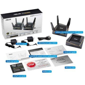 Asus AiMesh AX6100 è un nuovo sistema mesh con tecnologia Wi-Fi 6