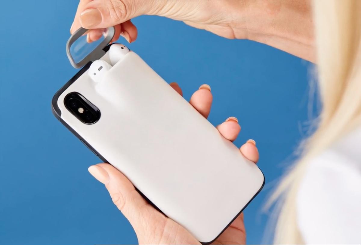 custodia cuffie iphone 8