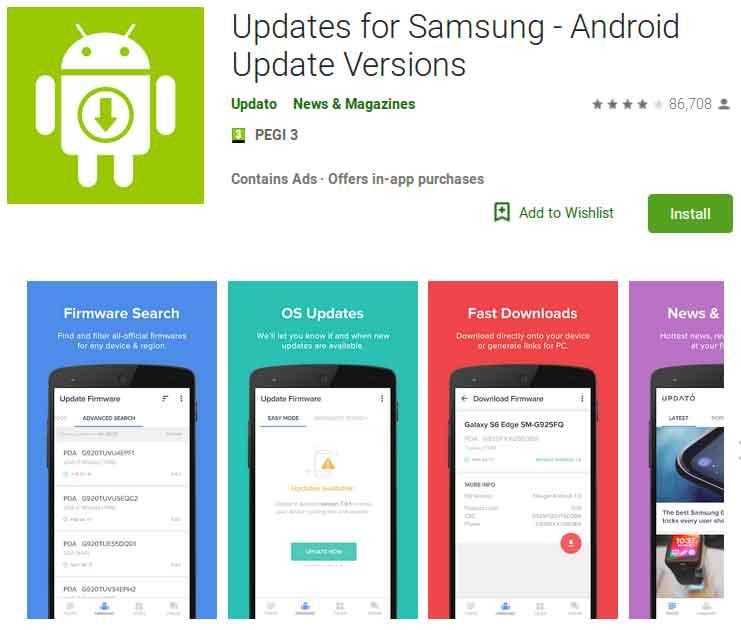 Oltre 10 milioni di utenti Android hanno scaricato una finta app per gli aggiornamenti dei dispositivi Samsung