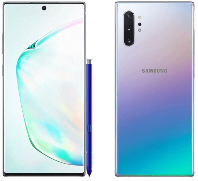 Galaxy Note 10 e 10+ nelle prime foto non ufficiali, meno cornice di S10