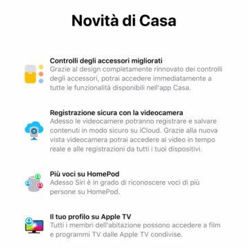 Come cambia l'interfaccia di Casa e Homekit con iOS 13 e iPad