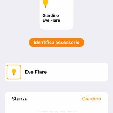 Recensione Eve Flare: la lampada HomeKit a batteria per portare la domotica anche in giardino