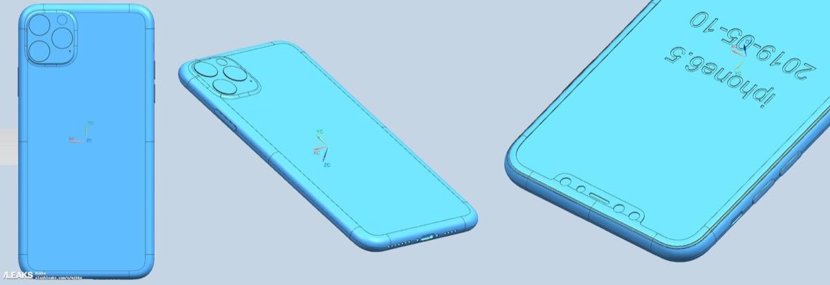 Ecco iPhone 2019 nei primi schemi di progettazione, le foto