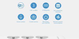Offerta lampo ciabatta multipresa Koogeek per Homekit, Alexa e Assistente Google