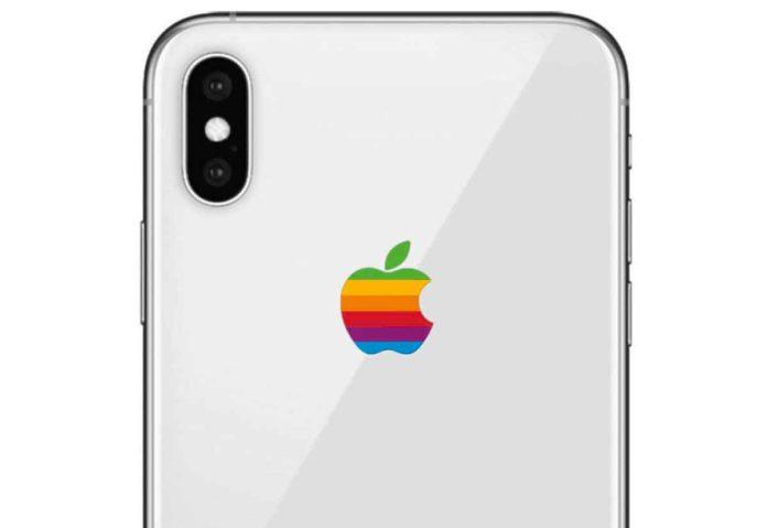 Apple vuole riproporre il logo con la Mela colorata su alcuni prodotti?