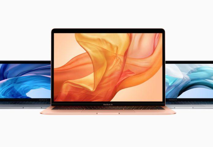 Il nuovo MacBook Air ha un SSD più lenta rispetto al modello 2018