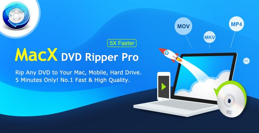 5 buone ragioni per convertire gratis i vostri DVD scaricando MacX DVD Ripper Pro per Mac
