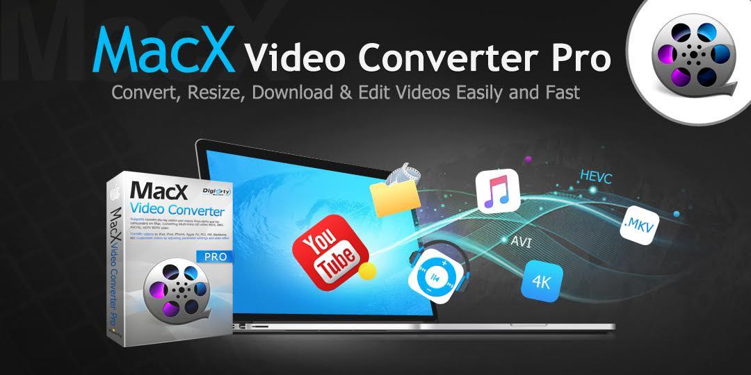 Scarica gratis MacX Video Converter Pro per convertire qualsiasi video e vinci un TV Samsung 4K