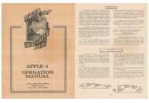 Il manuale originale dell'Apple 1 è in vendita all'asta
