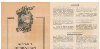 Il manuale originale dell'Apple 1 è in vendita all'asta