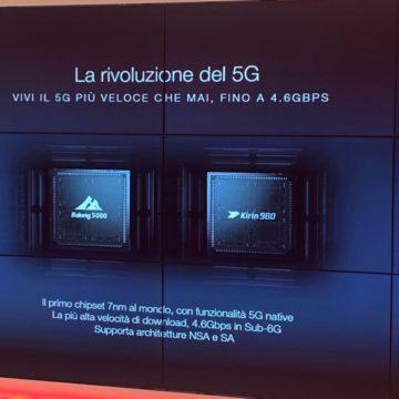 Huawei Mate 20 X 5G in Italia: velocità inaudita, raffreddamento a camera di vapore e schermo 7.2″