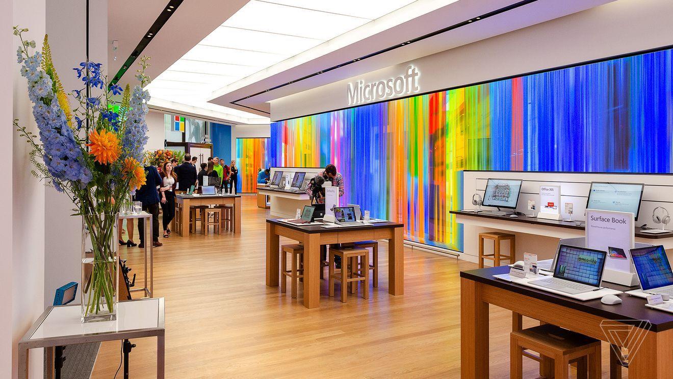Il primo store europeo di Microsoft apre a Londra