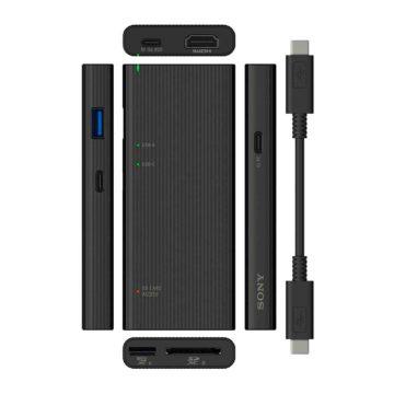 Sony, un hub USB-C multifunzione con lettore di schede SD UHS-II/microSD