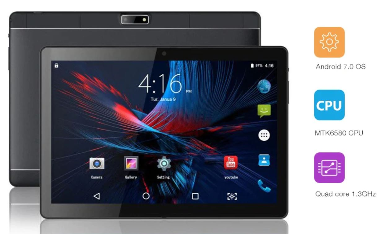 Zonko ZKT1002 3G, quando un tablet da 10 pollici costa solo 68 euro
