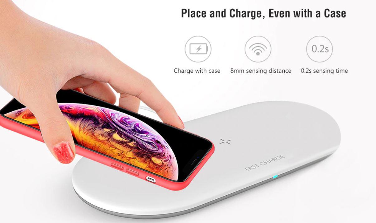 OJD 48: solo 12 euro per l'AirPowe che ricarica iPhone, Apple