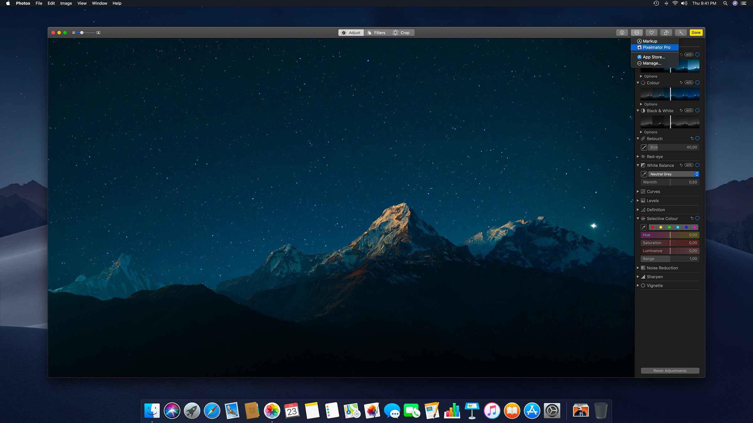 Pixelmator Pro ora utilizzabile come estensione per l'app Foto di macOS
