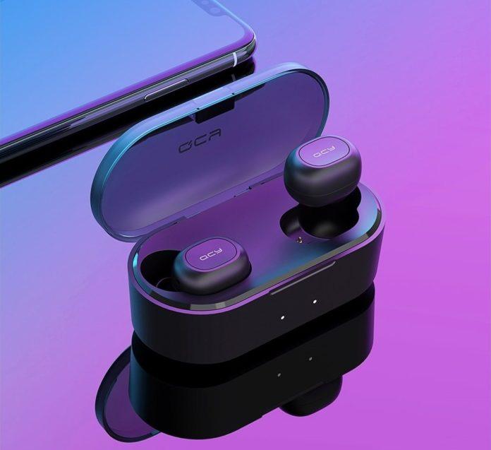 QCY T2C, cuffie auricolari wireless con 32 ore di autonomia che sfidano Xiaomi AirDots