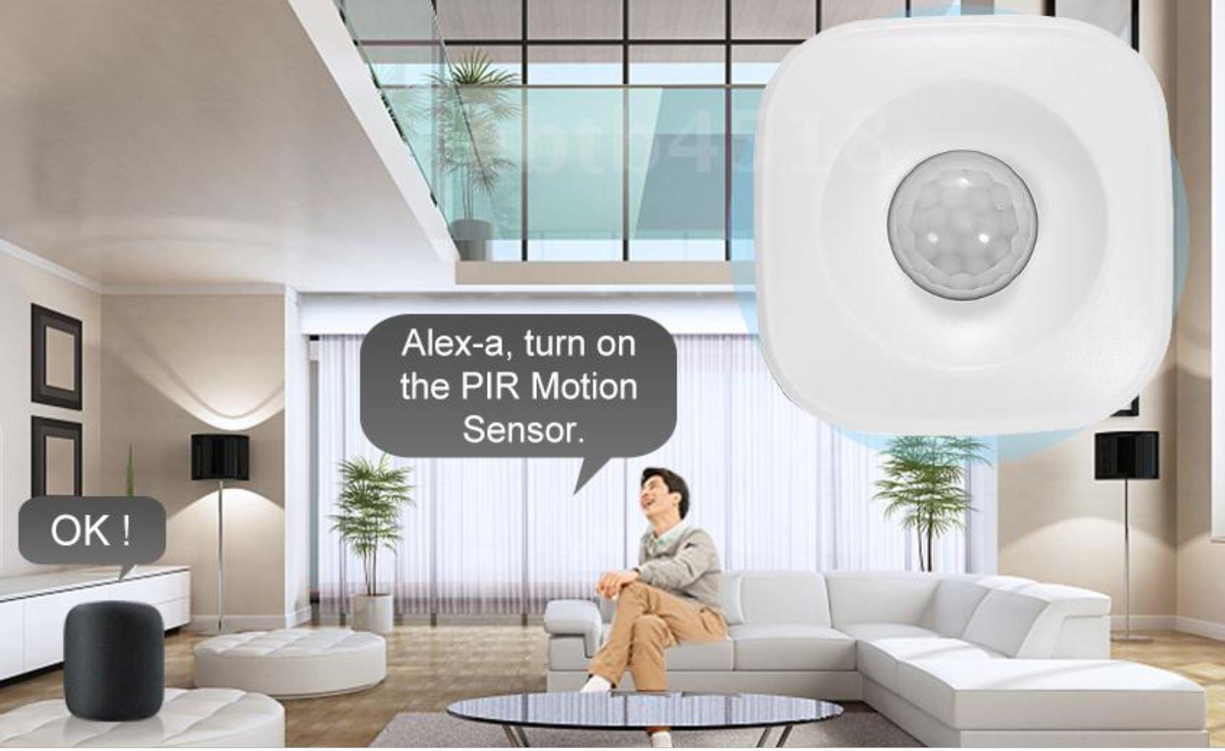 Il sensore di movimento antifurtu Tuya a soli 13,99 euro, compatibile con Alexa e Google