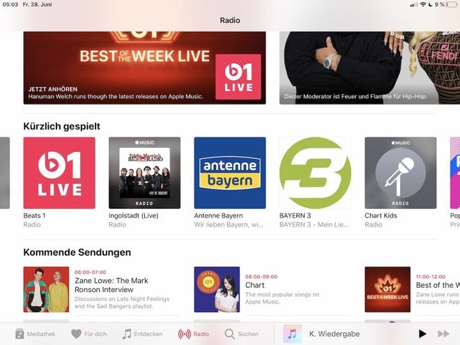 Apple inizia a supportare le stazioni radio con Siri su iPhone e HomePod