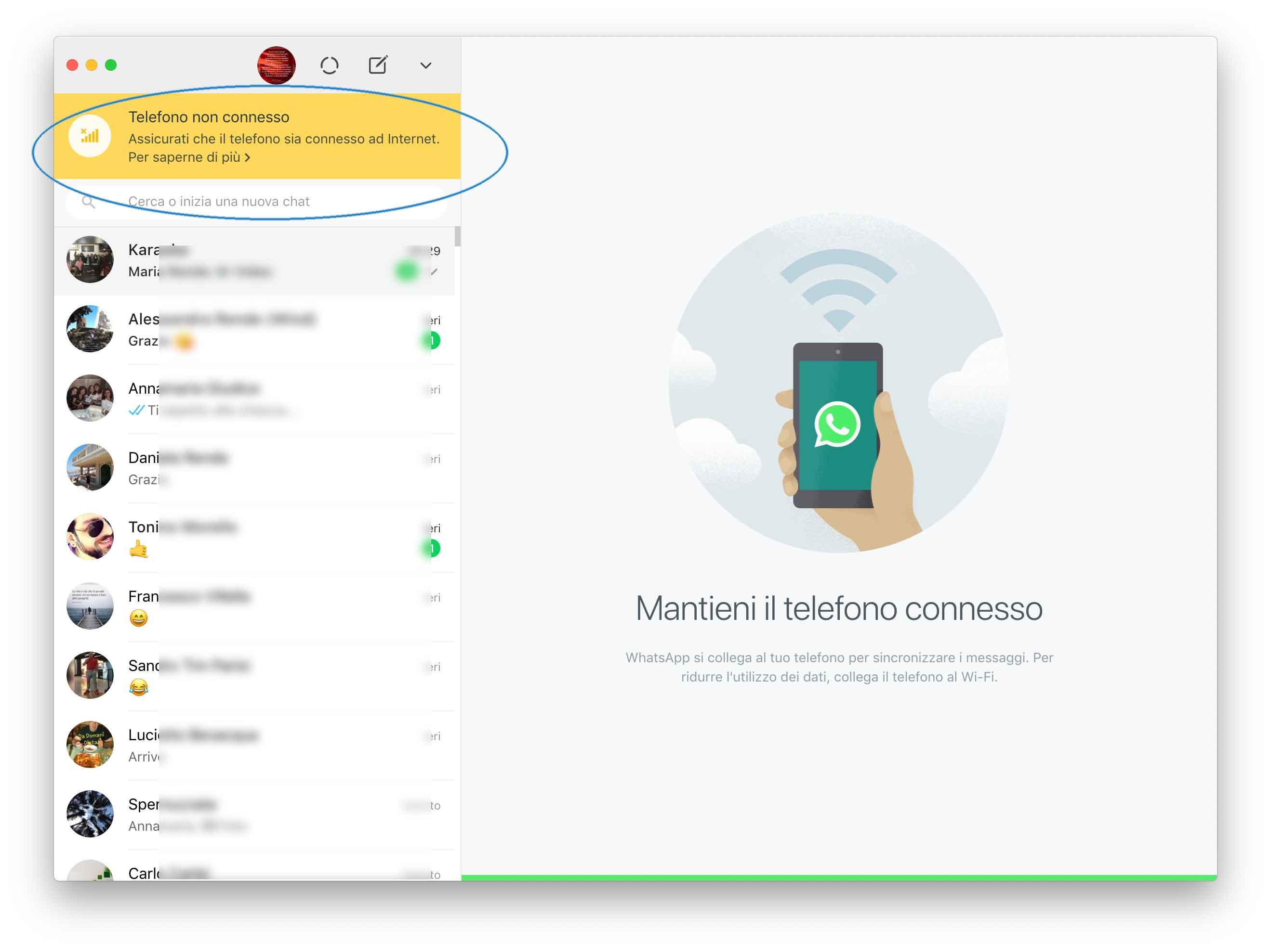 WhatsApp, in arrivo un client Mac che funziona anche senza l'iPhone vicino