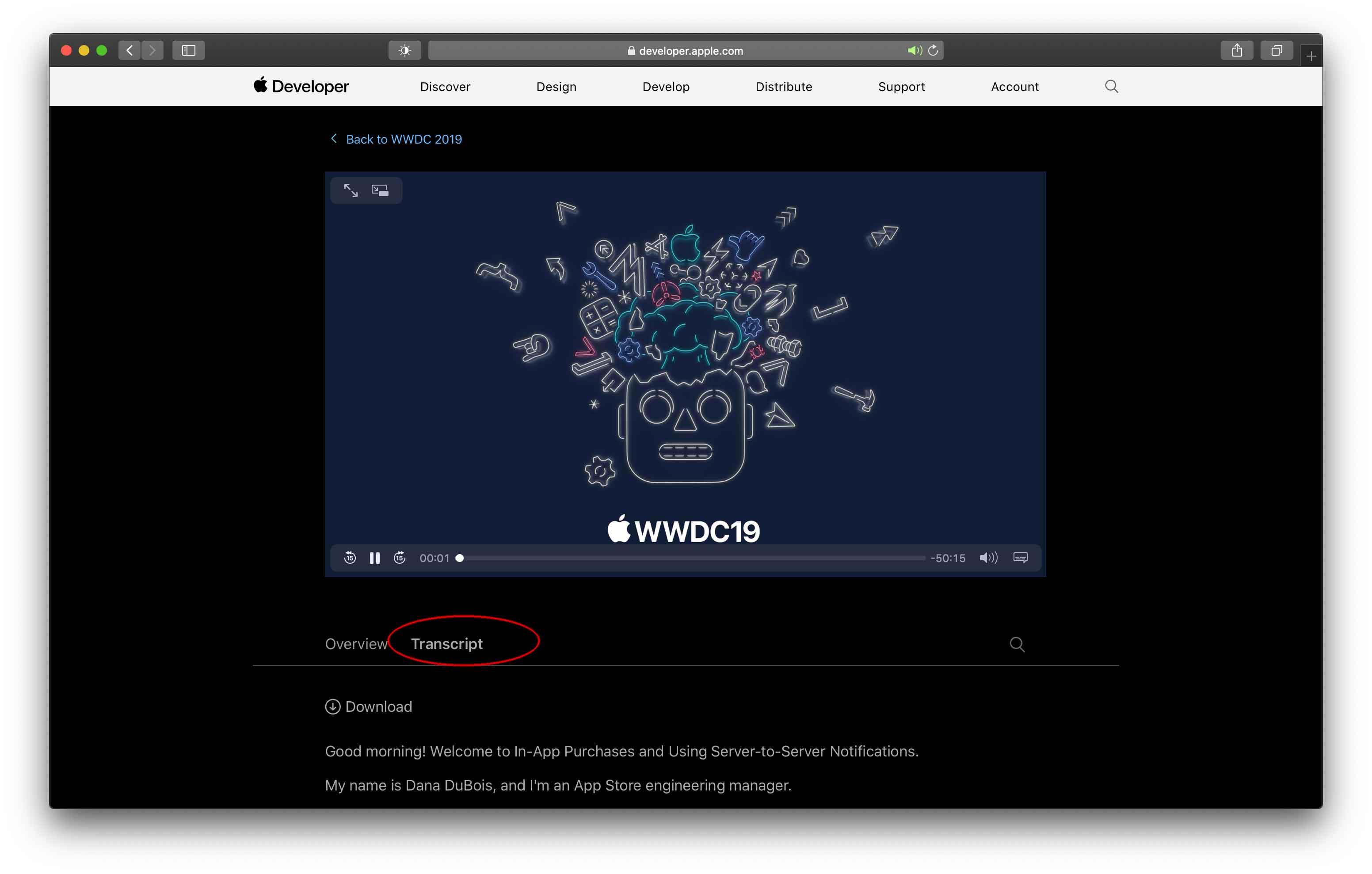 WWDC 2019, disponibili le trascrizioni complete delle sessioni