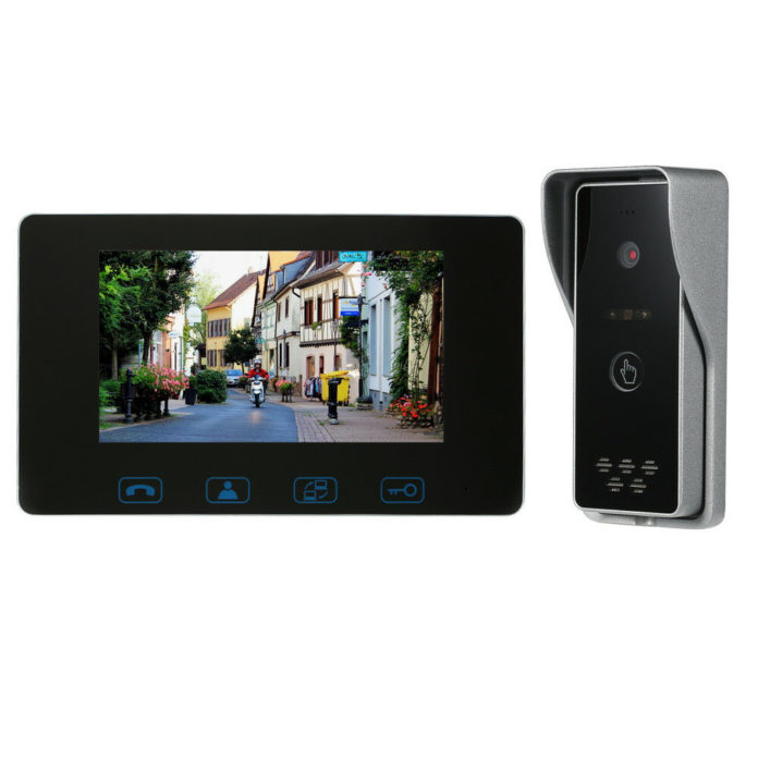 Videocitofono cablato con monitor TFT da 7″: costa solo 50 euro