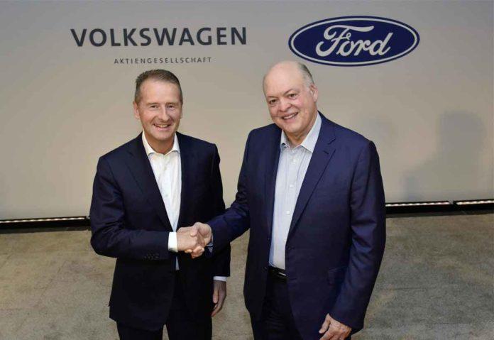 Volkswagen e Ford, collaborazione su auto elettriche, van e self drive