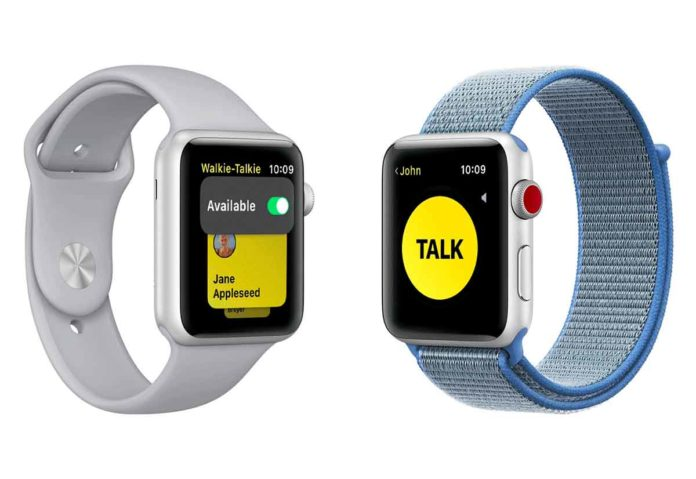 Apple ha disabilitato l'app Walkie-Talkie su Apple Watch per una vulnerabilità
