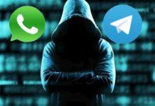 I file multimediali di WhatsApp e Telegram non sono al sicuro