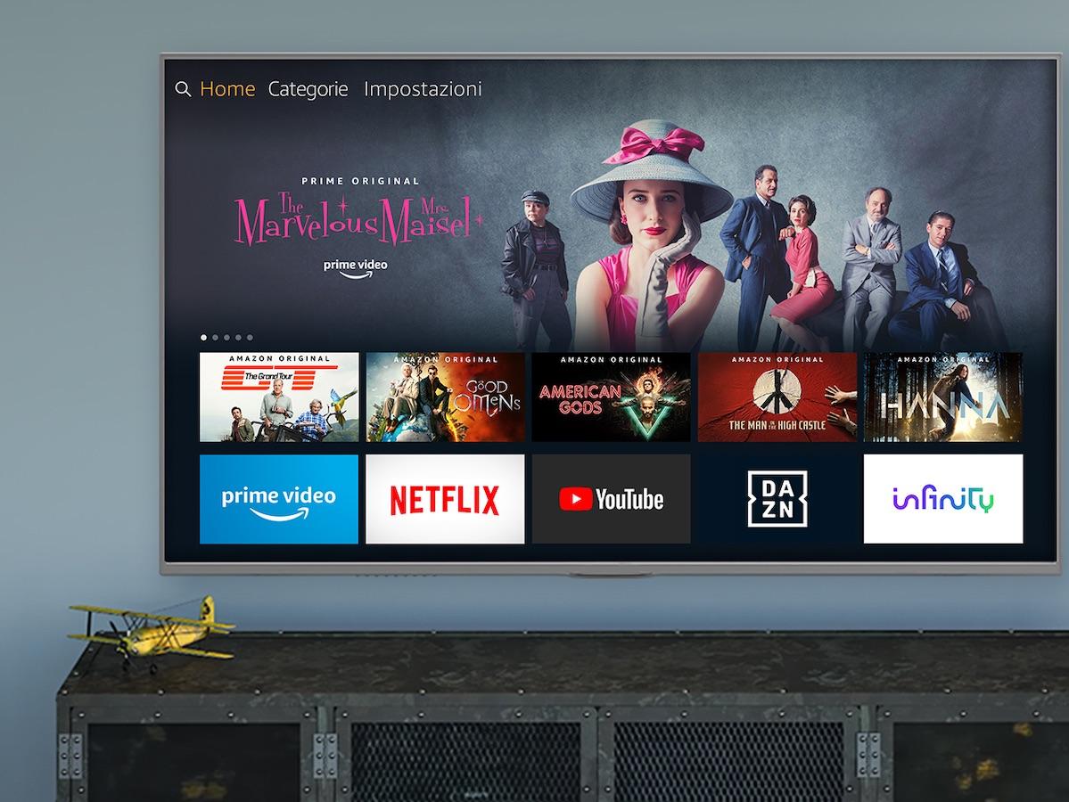 453b3a50b0446f Grande incrocio tra Amazon e Google: Youtube arriva su Fire TV e Amazon  Prime su